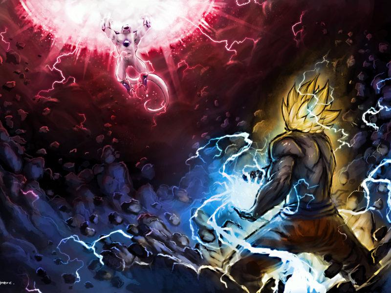 13496 Dragon Ball Z Goku Vs Frieza