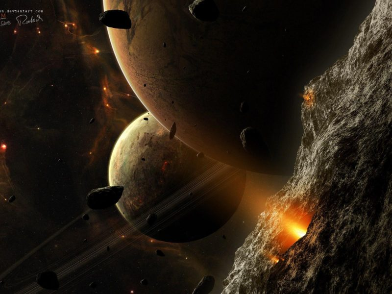 1920×1200 Cool 3d Planets
