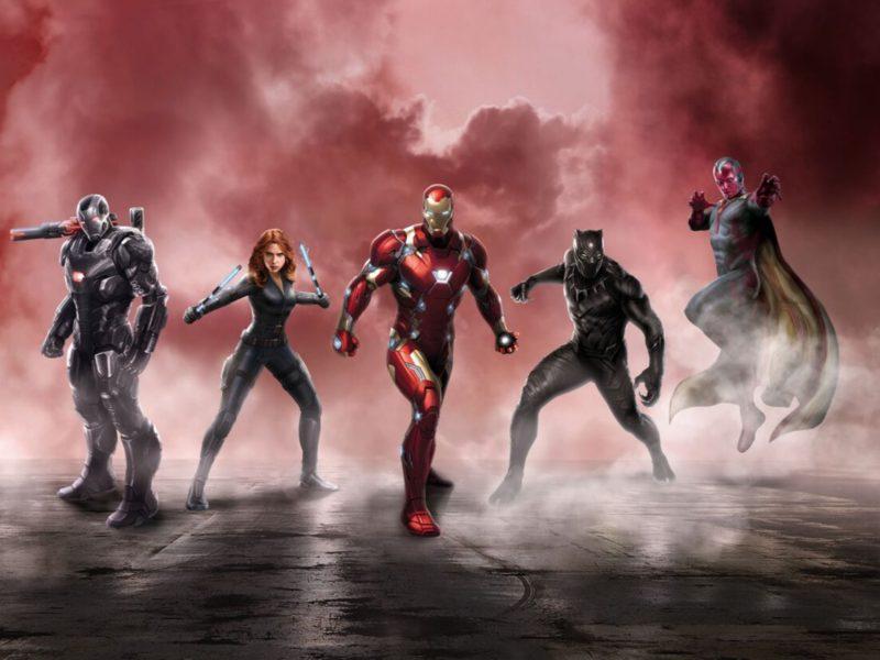 2015 Captain America Civil War 4k