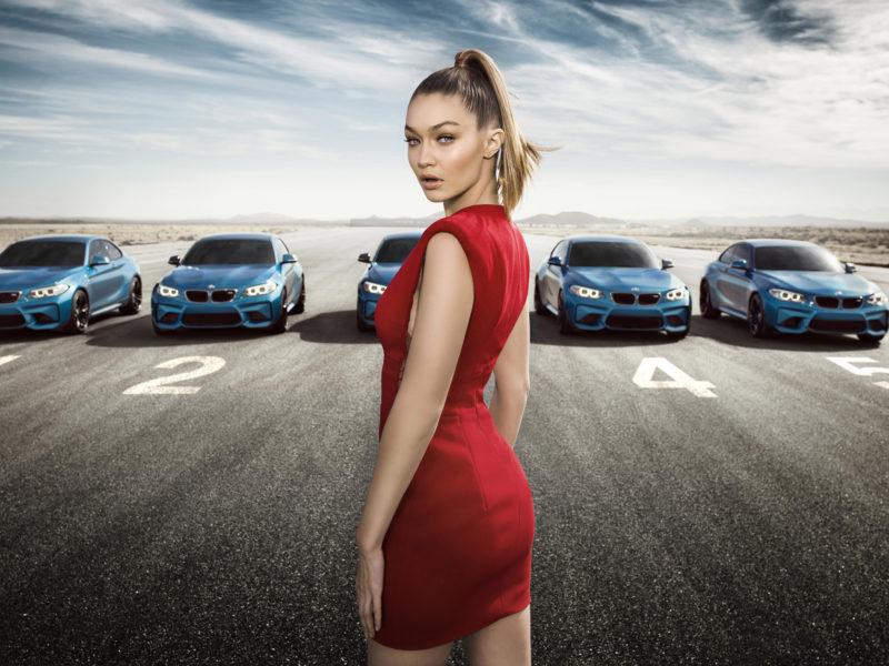 2016 Bmw M2 Coupe Gigi Hadid