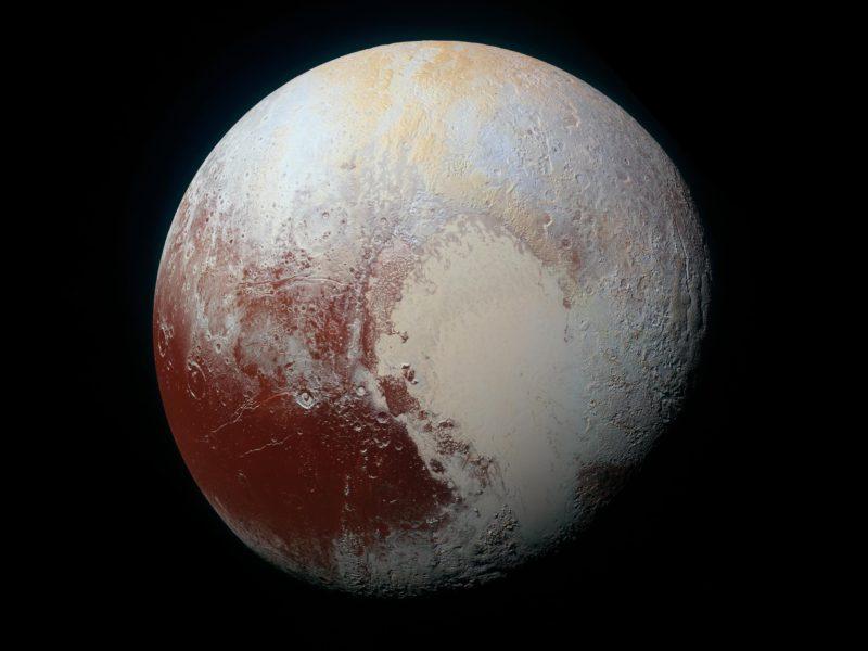 8k Nasa Picture Of Pluto.