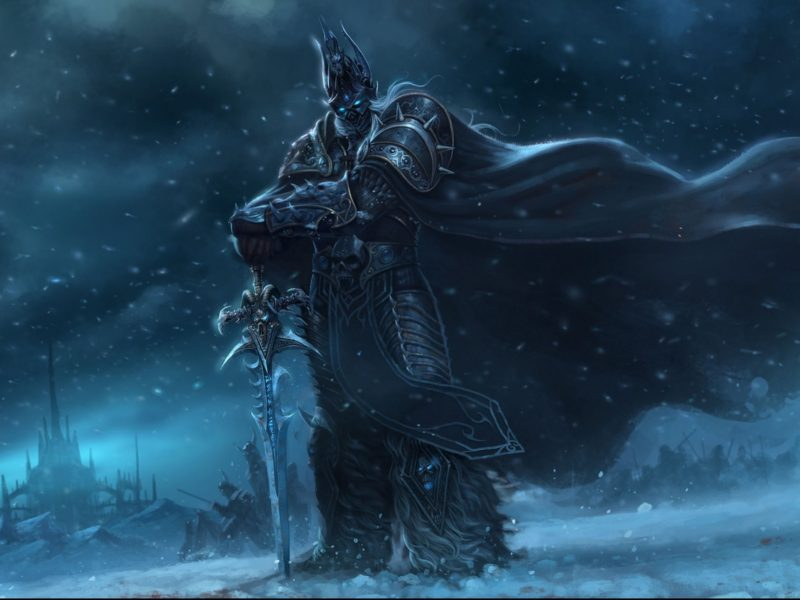Lich King, World of Warcraft, WOW wallpapers