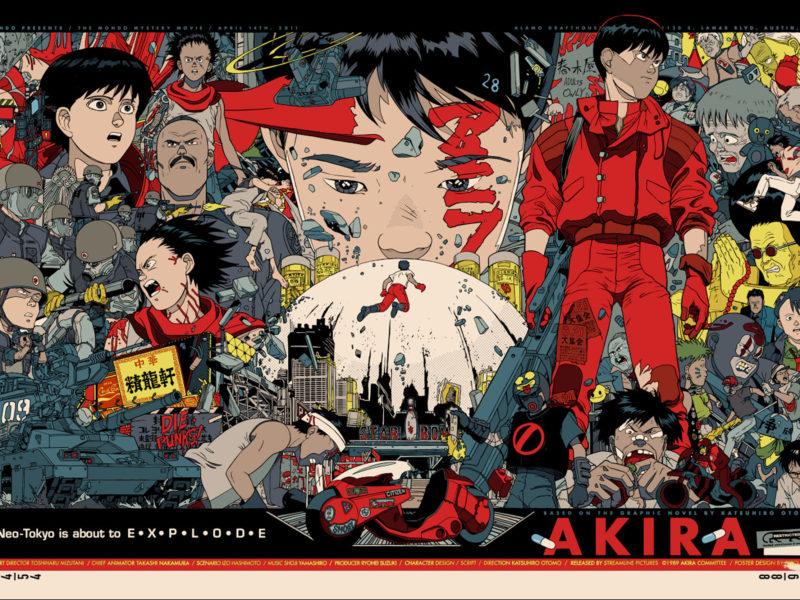 Akira Anime Movie Art Wallpaper