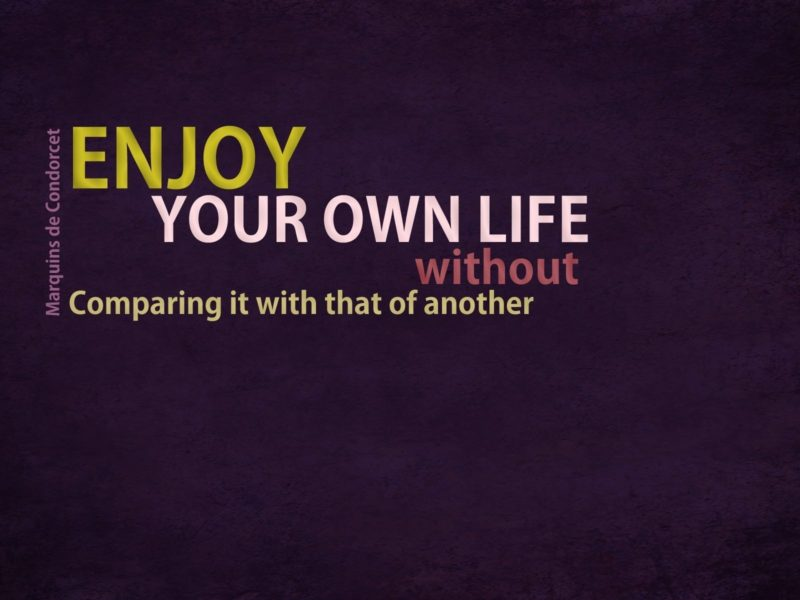 Enjoy Your Own Life2