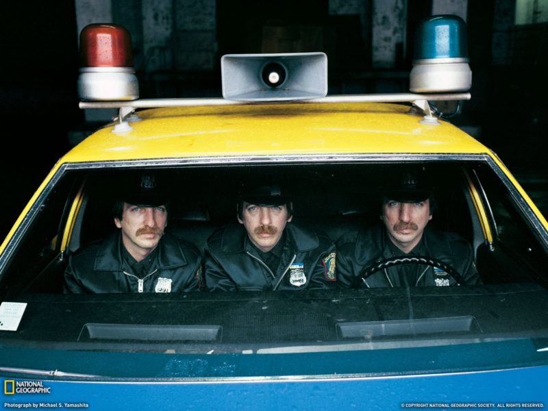 Funny Wallpapers The Same Three Police 093556