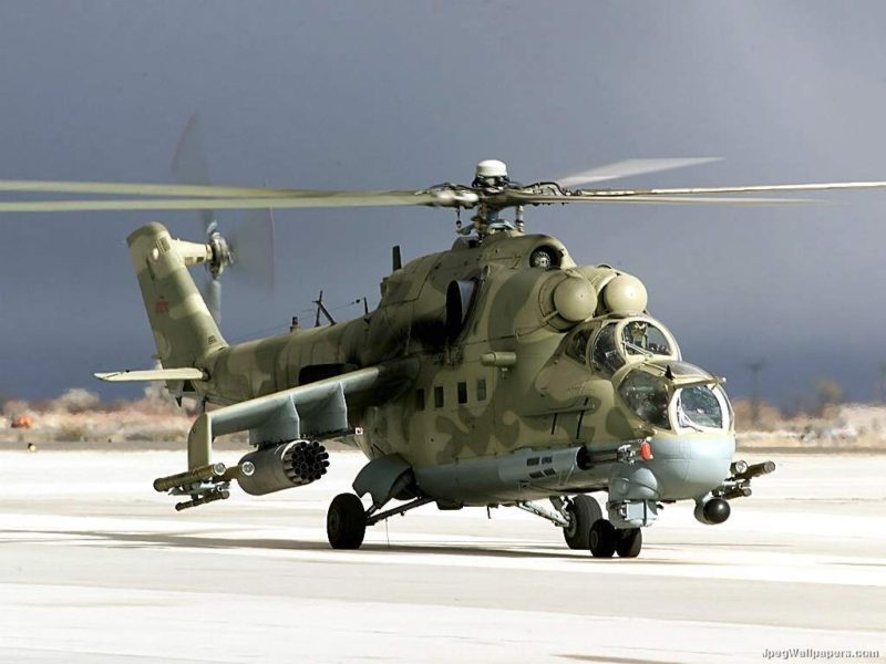 Helicopter Mi 24 637361