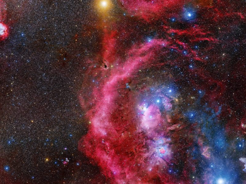 A 212 Hour Exposure Of Orion