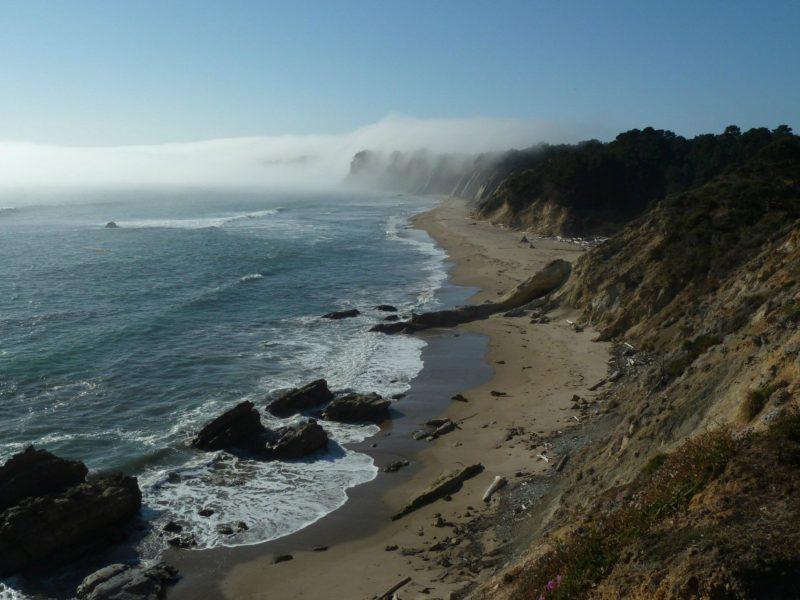 A Beach In Northern California
