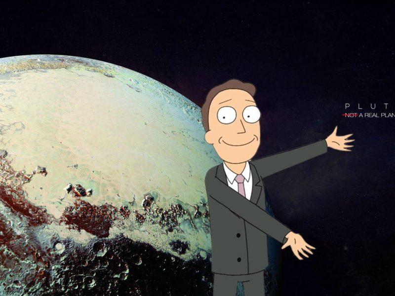 A Scientifically Accurate  Of Pluto Wallpaper