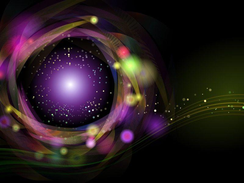 Abstract Colors Circle