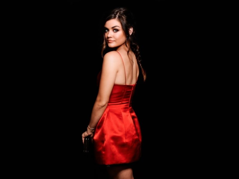 Actress Lucy Hale