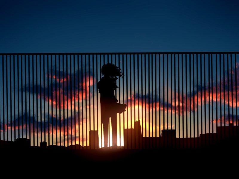 Alone Metro Sunset