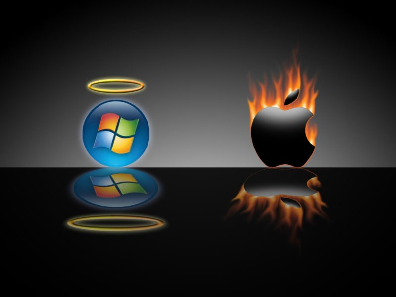 Angel Microsoft Vsdevil Apple