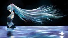 Anime Blue Hair