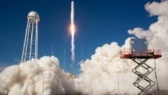 Antares Rocket Test Launch