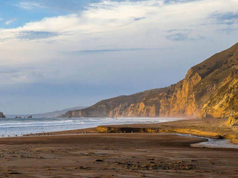 Ashore California And Took This Shot
