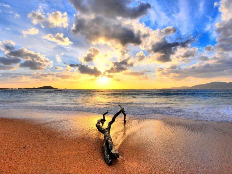 Astonishing View Of Beach