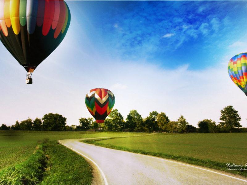 Balloons Spot Wide