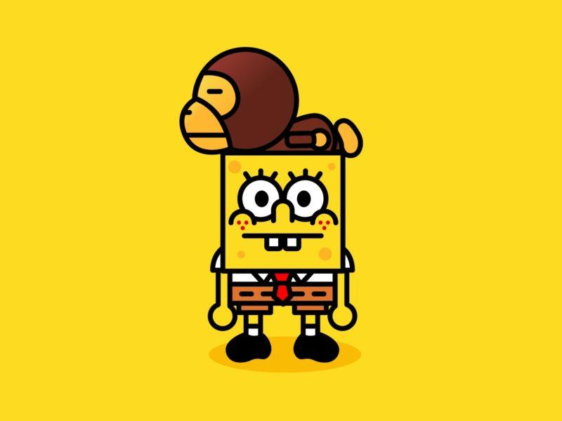 Bape Spongebob