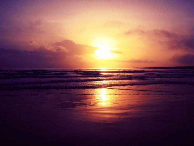 Beach Sunset 1280×960
