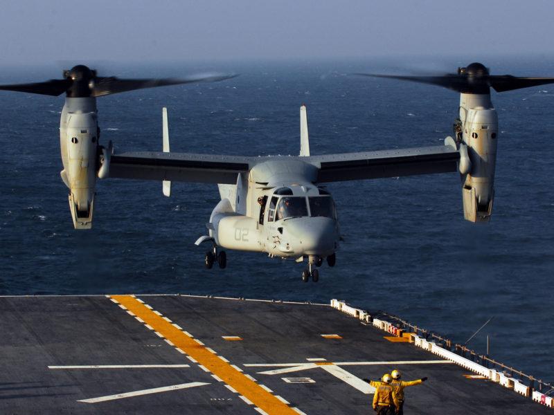Bell Boeing V 22 Osprey Us Mlitary Aircraft Hd