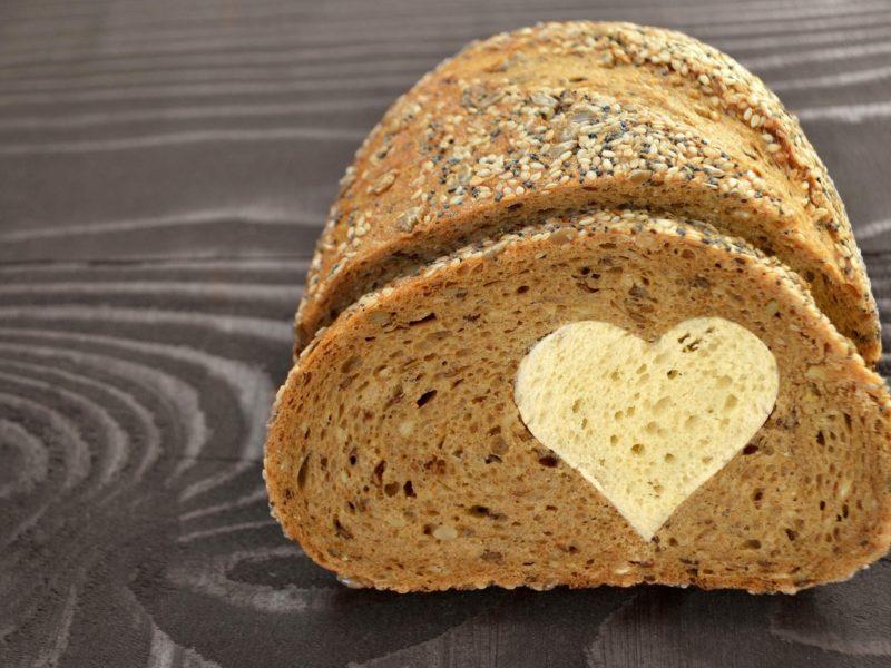 Bread Love Heart