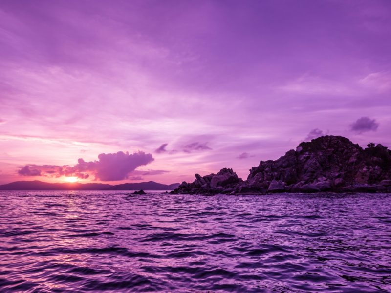British Virgin Islands Sunset 1600×900