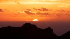 Canary Islands Sunset Wide