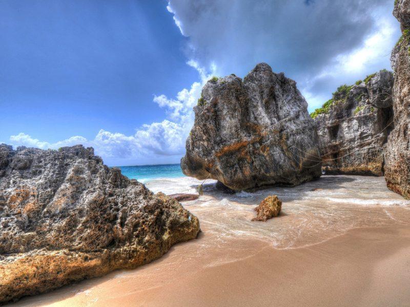 Cool Beach Rocks