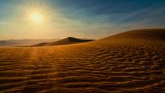 Death Valley Sunset Dunes Wide