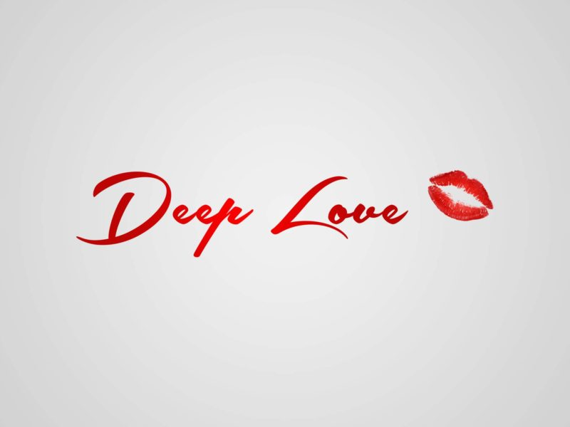 Deep Love And Red Lips