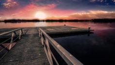 Dock Sunset Wide