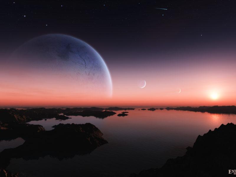 Dreamy Sunset Wide