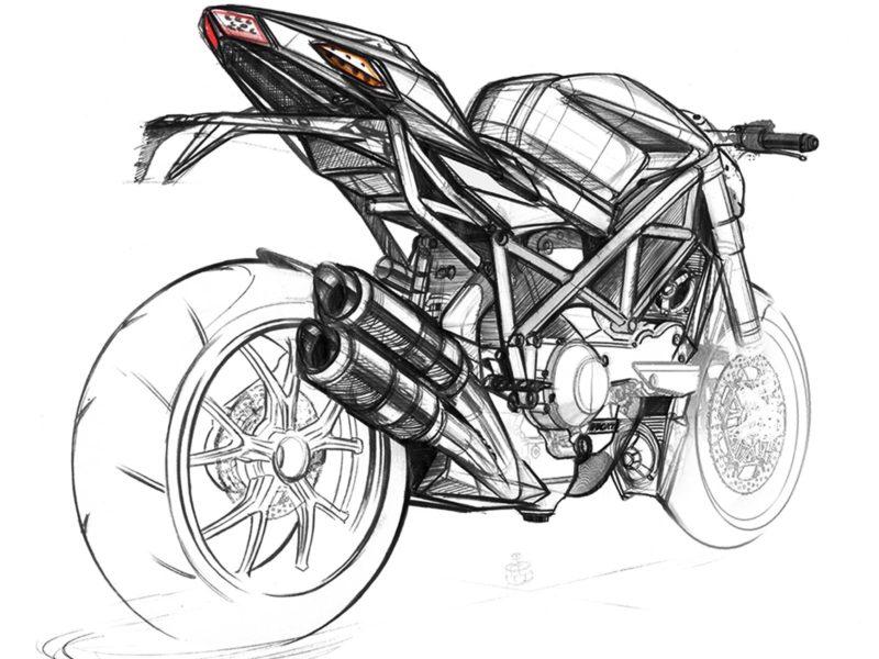 Ducati Streetfighter Design