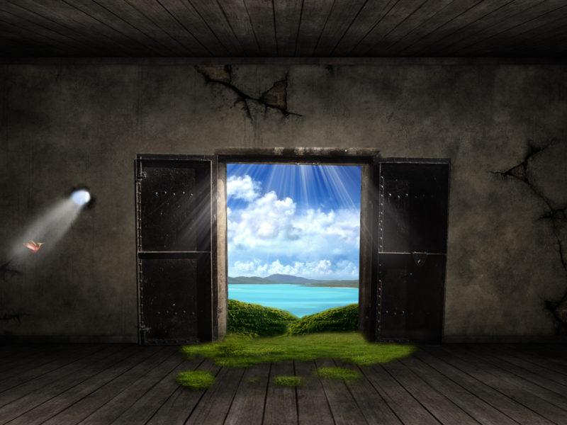 Fantasy Door Wide