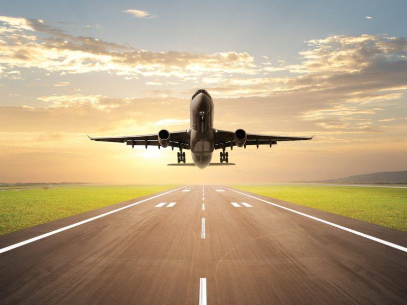 Flight Takeoff Wide