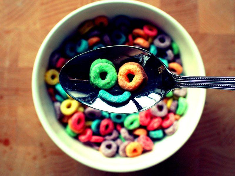 Fruit Loops Funny Food