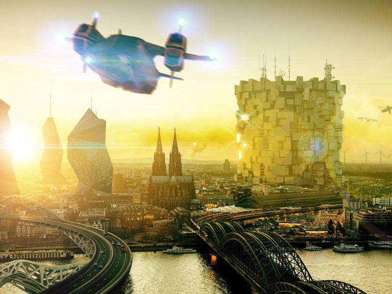 Future City Deus Ex Mankind Divided Hd