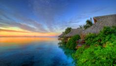 Island Sunset Wide