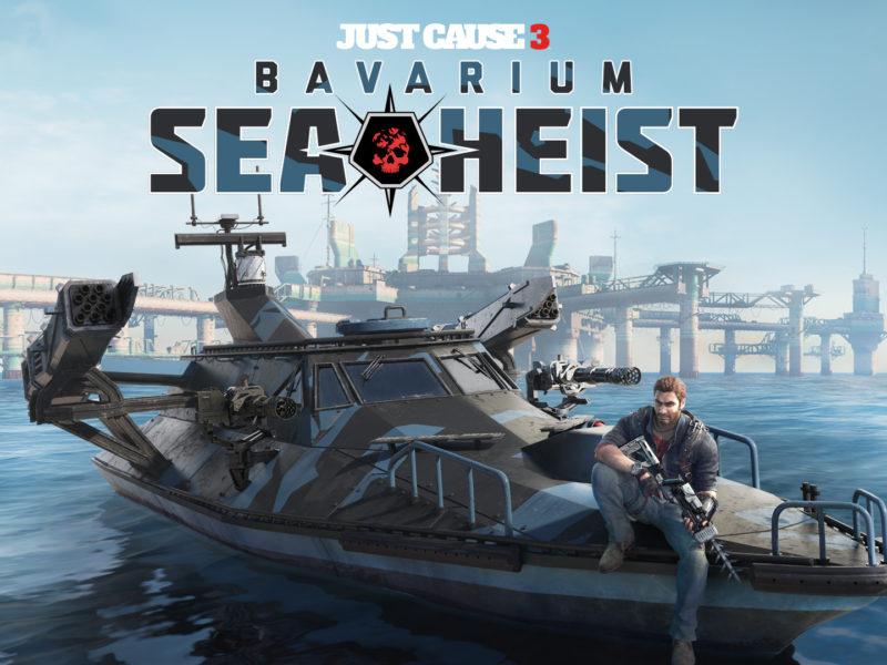 Just Cause 3 Bavarium Sea Heist Hd