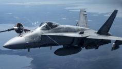 Las Fa 18 Hornet Supersonic Attack Aircraft Hd