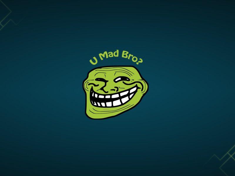 Mad Bro Troll Face Funny