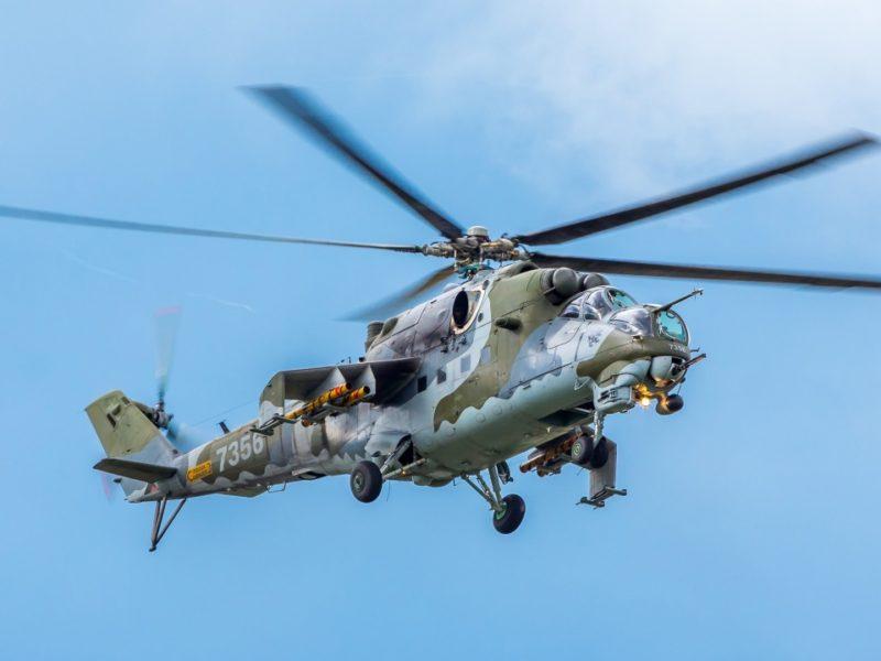 Mil Mi 24 Helicopter Gunship 1280×720