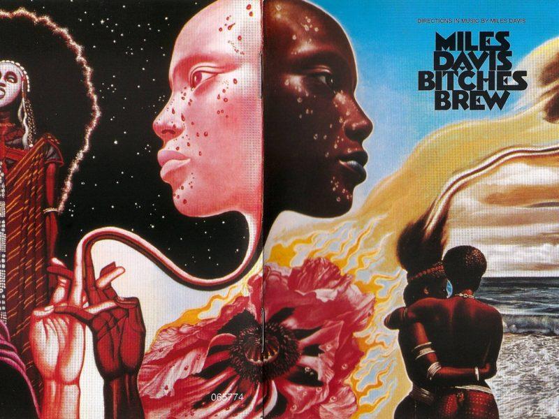 Miles Davis Bitches Brew Front  Amp Back