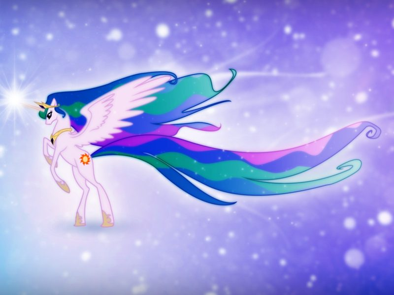 My Little Pony Friendship Is Magic Celestia