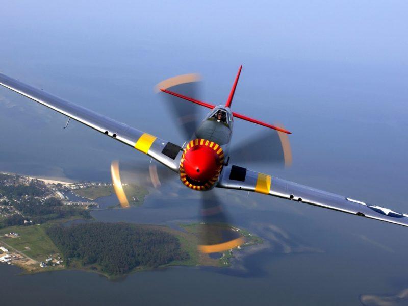 North American P 51 Mustang Aircraft 1920×1080
