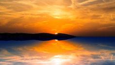 Orange Sunset Hd