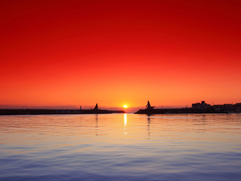 Port Sunset Wide