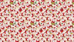 Santa Clause Texture Background