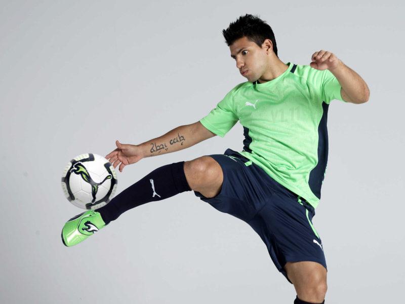 Sergio Aguero Soccer Player